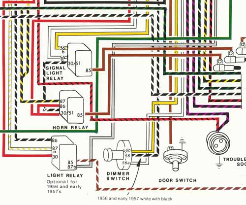 500 3 porsche� 1956 1959 wiring diagram poster ynz's online store porsche 356 wiring diagram at crackthecode.co